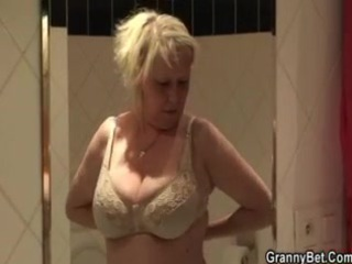 large boobs granny fucked hard by youthful