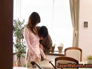 japanese older sweetheart acquires drilled doggy