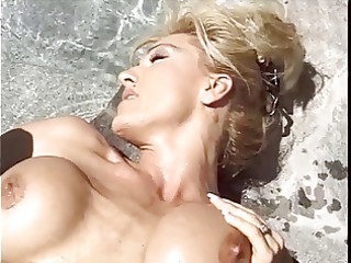 tall blond wife with outstanding love bubbles