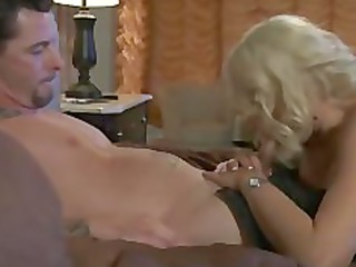 cocaine golden-haired breasty milf sex