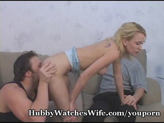 hubby watches wifes intense orgasms