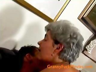 hardcore doggy style granny