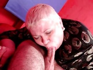 italian grandma loves younger weenie inside her