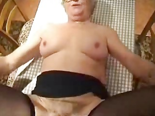 non-professional older. licking twat of my old