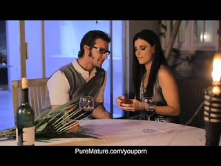 puremature candlelight anal with sexy mamma india