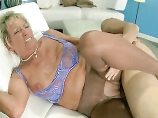 excited grandmother