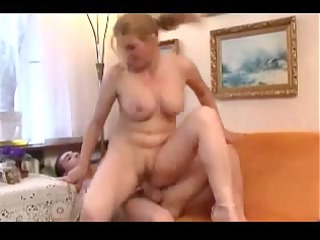 mature sexy mommy with young mate