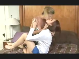 stepmom desires lesbo sex