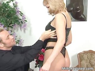 great blond milf sucks hard cock part5
