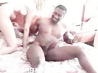 aged lady engulfing and fucking dark boy
