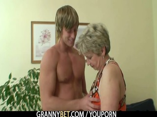 old housewife gets nailed by an young chap