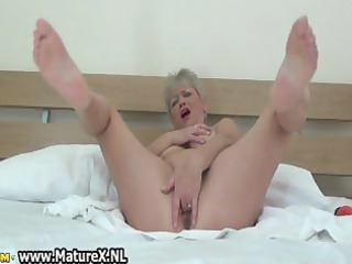 chubby aged lady t live without playing part10