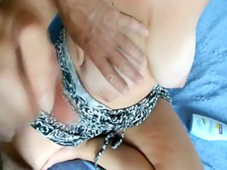 wifes large mounds - jerking off material 93