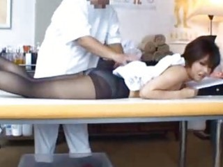 jap d like to fuck receives fleshly massage