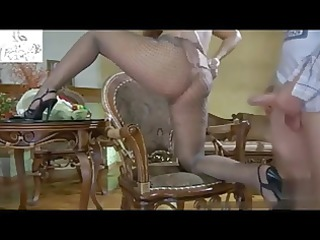 wife in nylons t live without large dong