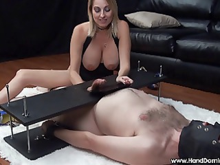 mean dom d like to fuck uses feeble serf during
