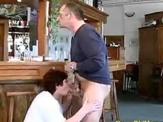 crazy old mamma receives fucked hard and does