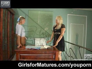 lesbo maid seduces her mother i mistress
