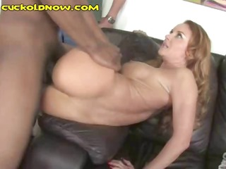 breasty brunette hair wife is getting nailed by
