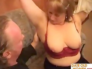obese grandmother goes wild
