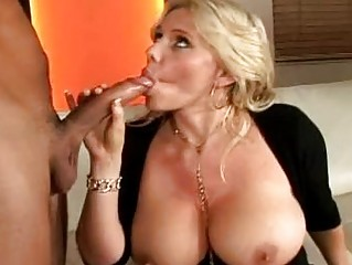 lustful golden-haired momma with giant jugs doing