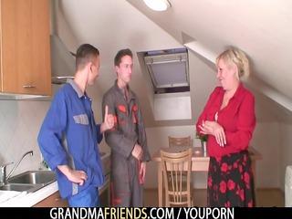 granny takes jocks