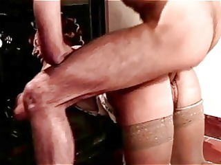 hairy curler d like to fuck acquires anal from