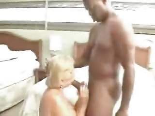 old grany fucking with 3 black lads