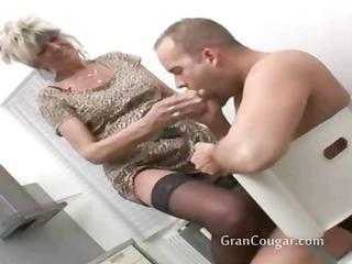 hawt old granny desires him now and wont stop til