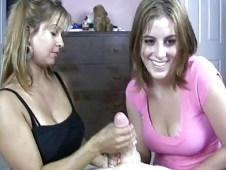 golden-haired d like to fuck shows her daughter
