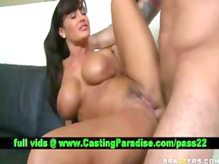 lisa ann busty brunette milf fucking