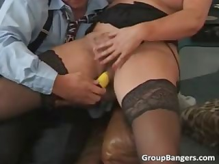 two old milfs are getting their soaked part3