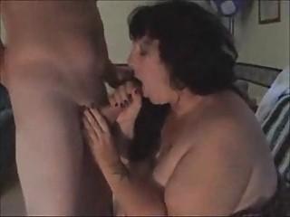 bulky wife engulfing off stranger