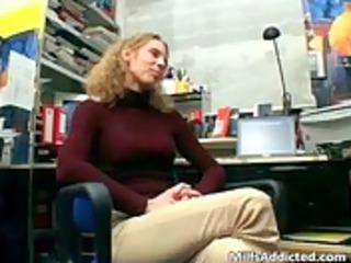 horny brunette mother i undresses raiment