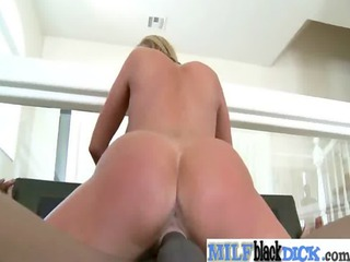milfs acquire fucked hard by large dark knobs