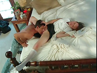 golden-haired licked fingered and fucked on the