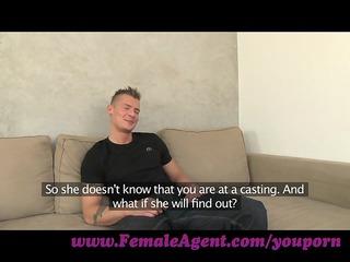 femaleagent. nymphomaniac stripper delights