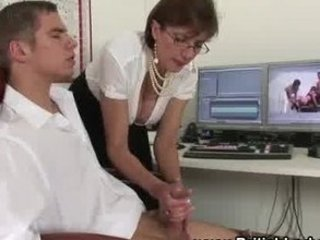 british older lady handjob