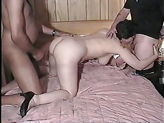 wife, hubby and large black cock