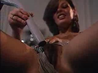 unshaved mother i mommy masturbates solo on the