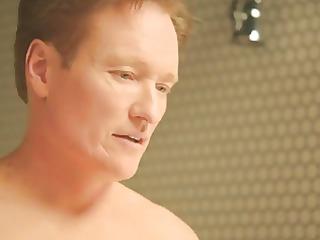 chelsea handler &; conan obrien - nude shower