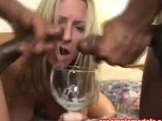 cum hungry d like to fuck drinks cum