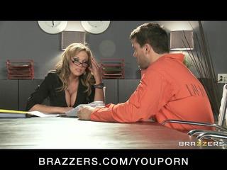 hawt big-boob brunette hair mother i lawyer nikki