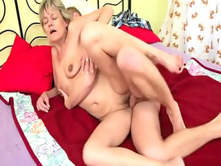 blonde mama fuck guy