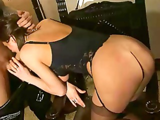 hot french older anal