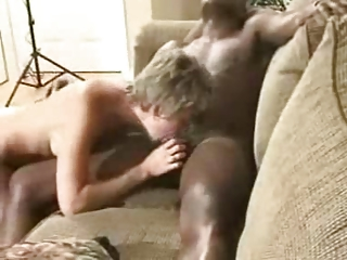 sexually excited wife and darksome guy going wild