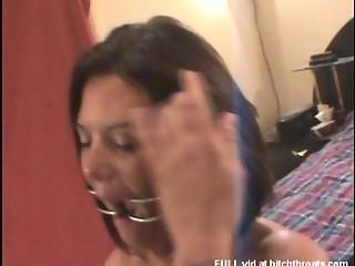 dilettante milf suffers anal agony