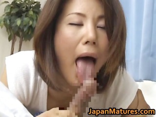 lascivious older mio fujiki goes wild for