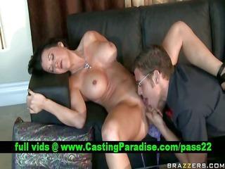 raquel devine concupiscent breasty mamma licked