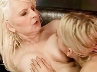 unsightly granny has sex with cute legal age